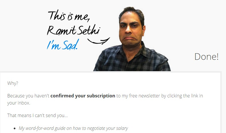 Ramit-Sethi-Confirmation-Page